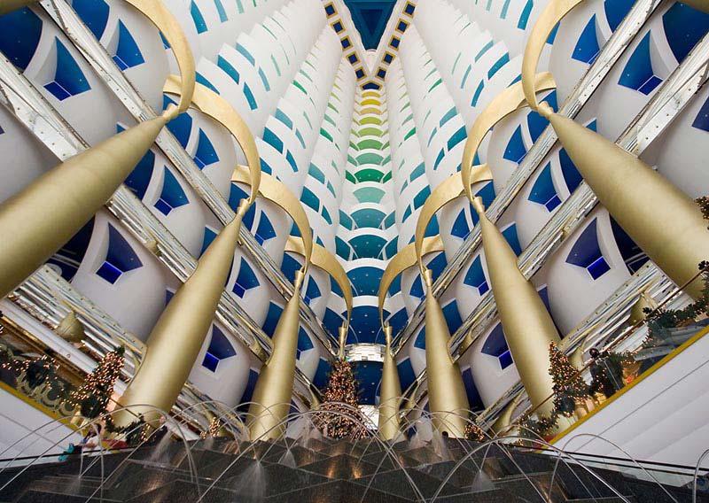 Dubai for Burj al arab underwater room
